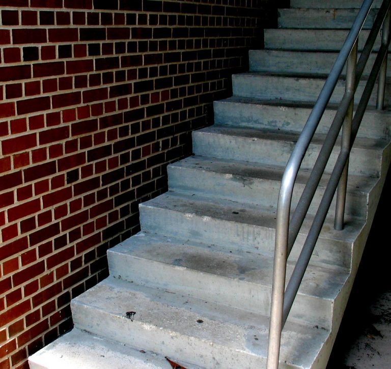 Jackson MS Brick Steps