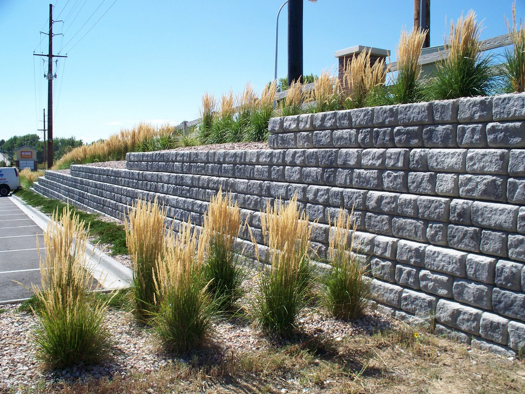 Jackson MS Retaining Wall
